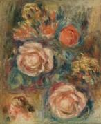 Букет роз - Ренуар, Пьер Огюст