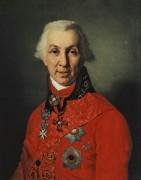 Портрет Г. Р. Державина 1795 -  Боровиковский, Владимир Лукич