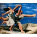 Женщины бегущие   по пляжу, 1922 - Пикассо, Пабло