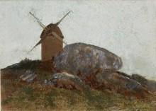 Ветряная мельница - Редон, Одилон