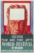 Второй фестиваль кино и изобразительных искусств в Бельгии - Магритт, Рене