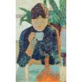 Женщина с чашечкой кофе - Синьяк, Поль