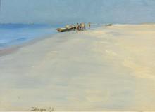 Рыбаки на побережье Скагена, 1891 - Кройер, Педер Северин