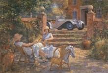 Чаепитие в саду - Фернли, Алан