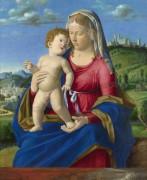 Мадонна и дитя - Конельяно, Чима да