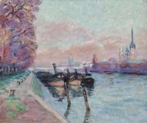 Сена в Руане, 1898 - Гийомен, Арманд