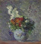 Ваза с цветами - Лебаск, Анри