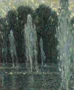 Струи воды, Версаль, 1938 - Сиданэ, Анри Эжен Огюстен Ле