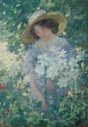 Сбор цветов, 1909-11 -  Бюхр, Карл Альберт