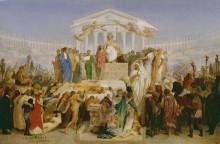 Век Августа, рождение Христа (эскиз) - Жером, Жан-Леон