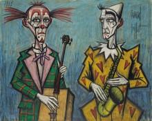 Два клоуна - Бюффе, Бернар