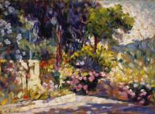 Терраса с цветами - Кросс, Анри Эдмон