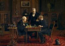 Игроки в шахматы - Икинс, Томас
