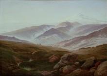 Исполиновы горы (Воспоминания об Исполиновых горах) - Фридрих, Каспар Давид