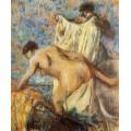 Женщина, выходящая из ванной - Дега, Эдгар
