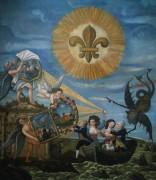 Совершенство и Правда ведут Людовика XVI - Французская школа живописи