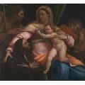 Мадонна с младенцем и святыми -  Пьомбо, Себастьяно дель