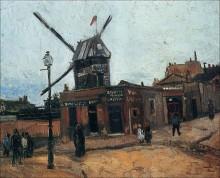 Мулен де ла Галетт (Le Moulin de la Galette), 1886 01 - Гог, Винсент ван