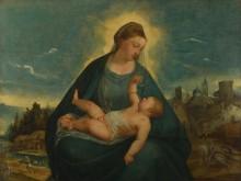 Мадонна с младенцем - Азола, Бернардино да