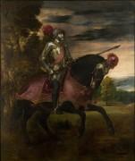 Император Карла V на коне - Тициан, Вечеллио