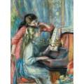 Девушки за пианино - Ренуар, Пьер Огюст