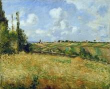 Ржаное поле, холмы в Гратте Кокс - Писсарро, Камиль