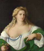 Портрет блондинки - Пальма, Якопо Старший