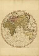 Карта мира 1750-1836
