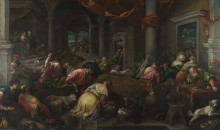 Изгнание торгующих из храма - Бассано, Якопо