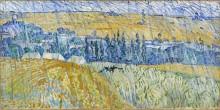 Пейзаж в Овере в дождь (Landscape at  Auvers in Rain), 1890 - Гог, Винсент ван
