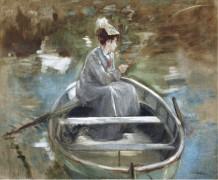 В лодке - Гонсалес, Ева