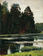 Пруд, 1881 - Шишкин, Иван Иванович