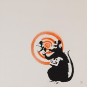 Крыса с радиолокатором - Бэнкси