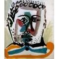 Портрет бородатого мужчины, 1964 - Пикассо, Пабло