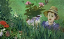 Мальчик с цветами - Мане, Эдуард