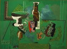 Зеленый натюрморт - Пикассо, Пабло