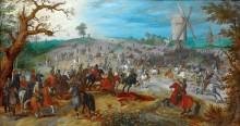 Сражение у двух мельниц - Брейгель, Ян (Старший)