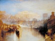 Древний Рим - Агриппина, прибывшая с прахом Германика - Тернер, Джозеф Мэллорд Уильям