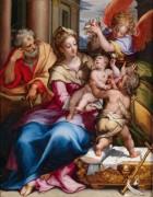 Святое Семейство с маленьким Иоанном Крестителем - Кальварт, Денис ван