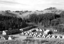 Лагерь в штате Вайоминг - Хиггингс, Джей
