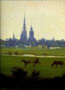 Луга в районе Грайфсвальда, 1820-1822 - Фридрих, Каспар Давид