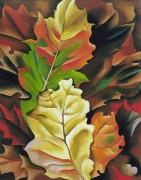 Осенняя листва - О'Кифф, Джорджия