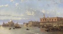 Вид на Дворец дожей, Венеция -  Робертс, Давид
