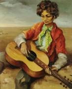 Цыганский мальчик играет на гитаре, 1950 - Диф, Марсель