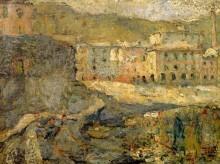 Город в солнечном свете, 1886 - Энсор, Джеймс