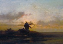 Ветряная мельница - Дюпре, Жюль