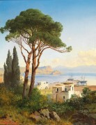Вид на Байи близ Неаполя - Циммерман, Альберт Август