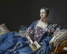 Портрет мадам де Помпадур - Буше, Франсуа