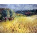 Пшеничное поле - Ренуар, Пьер Огюст
