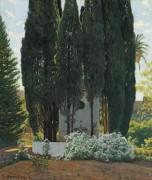 Кипарисы у фонтана (The Cypress Fountain) - Русиньол, Сантьяго